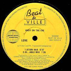 Andy On The Eve - Love (Beat De Ville Label 1992)