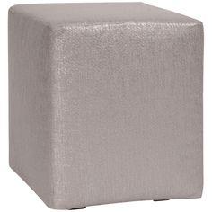 Howard Elliott Glam Pewter Universal Cube Cover  C128-237