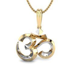 Shashwat Om Gold Pendant