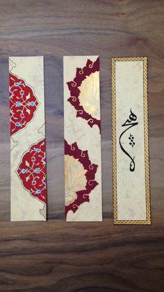 Arabic Calligraphy Design, Islamic Calligraphy, Islamic Art Pattern, Pattern Art, Illumination Art, Watercolor Bookmarks, Celtic Patterns, Islamic Wall Art, Turkish Art