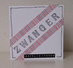 Moostly Cards & Crochet: Serie #21 Zwanger!