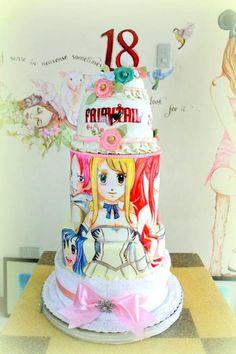 Fairy Tail- Manga Cake