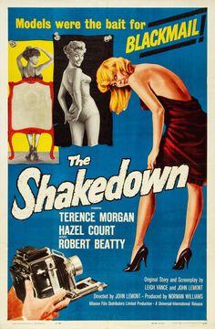 The Shakedown (1960) starring Terence Morgan, Hazel Court & Robert Beatty