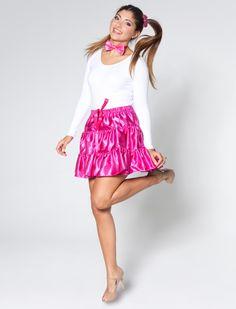 Rüschenrock pink   Deiters   Kostüm   Karneval   Fasching   Outfit    Mottoparty   Einhorn 4326210914