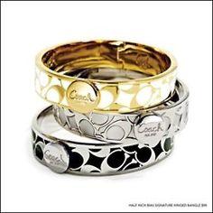 Yes coach bracelets!!