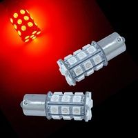 2PCS x 1156 Ba15s 30 5050 SMD LED Rear Tail Light Bulbs Ultra RED  #BA15S  #5050SM  #RearLight  #TailLight  #REDLED  #1156LED T10 Led, Red Shop, Car Lights, Tail Light, Bulbs, Light Bulb, Shopping, Lightbulbs, Electric Light