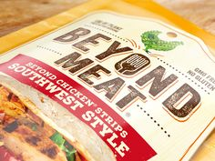 Beyond Meat: The Future of Protein — The Dieline - Branding & Packaging Design