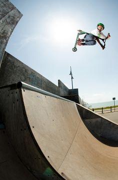 Lucky pro rider Dante Hutchinson - credit Sam Cooper