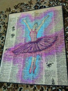 Book page ballet