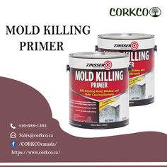 Thinking and finding mold killing primer in canada? So, here you are at the right place where you get the best and genuine mold killing primer. Building Construction Materials, Calgary, Vancouver, Cork, Toronto, Canada, Corks