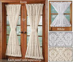 buy midtown rod pocket 72inch door panel in cream from bed bath u0026 beyond dining room pinterest rod pocket pocket doors and doors - Door Panel Curtains