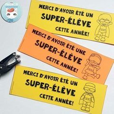 French End Of School Year Bookmarks - For French Immersion Read In French, Learn French, School Sets, End Of School Year, French Teacher, Teaching French, Classroom Organisation, Classroom Management, End Of Year Activities
