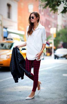 5961ec42d07cf red and black check Tartan pants, fashion plaid leggings pants, red plaid  pants #red #and #black #check #Tartan #pants www.loveitsomuch.com
