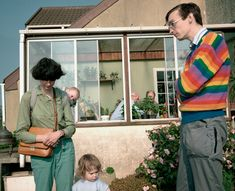 Martin Parr  ENGLAND. Garden Open Day from The Cost of Living  1986-1989