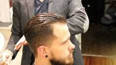 Pompadour haircut - how to cut a pompadour haircut Greg Zorian https://www.youtube.com/user/GregZorian/videos