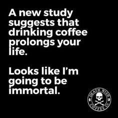 Long life immortals coffee drinker Coffee Addiction, My Coffee, Coffee Shop, Life, Coffee Shops, Loft Cafe, My Coffee Shop, Cafe Shop, Coffeehouse