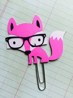 Hey, I found this really awesome Etsy listing at https://www.etsy.com/listing/239150133/fox-paper-clip-fox-bookmark-planner-clip