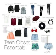 """teen essentials"" by chloeziegler2 on Polyvore"
