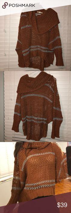 Chunk copper sweater from Threads 4 Thought V chunky v warm Threads 4 Thought Sweaters Crew & Scoop Necks