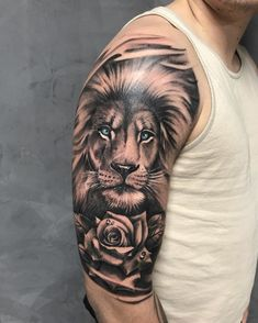 Top 100 Lions Tattoos For Men Tattoo - Top 100 Lions Tattoos For Men . - Top 100 Lions Tattoos For Men Tattoo – Top 100 Lions Tattoos For Men Tattoo – - Lion And Rose Tattoo, Lion Arm Tattoo, Lion Shoulder Tattoo, Lion Forearm Tattoos, Lion Tattoo Sleeves, Lion Head Tattoos, Mens Lion Tattoo, Lion Tattoo Design, Best Sleeve Tattoos
