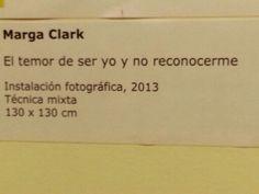"""Marga Clark Exposición """"Espacio e Identidad """". Pasaje Fuencarral 77. Madrid.  #ArteContemporáneo #ContemporaryArt #Art #Arte #Arterecord 2013 https://twitter.com/arterecord"""