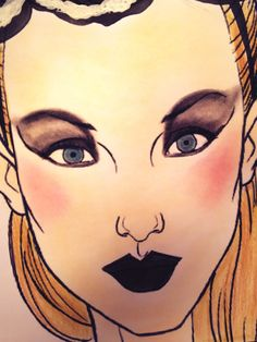 #diseño beauty make up alumna Milagros Varela