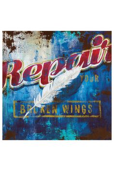Broken Wings Canvas Wall Art on HauteLook