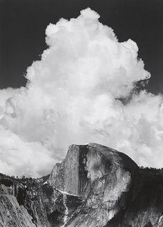 Half Dome, Thundercloud, Yosemite National Park Date:ca. 1956