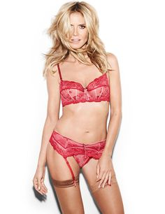 Heidi Klum returns to lingerie modelling with her own line | Harper's Bazaar