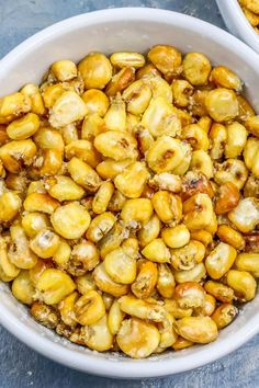 Easy Homemade Corn Nuts Baked or Fried Snack Recipe