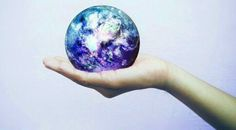 Galaxy Earth In hand