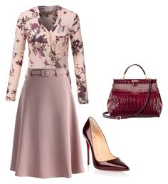"""""""trab"""" by eteralucia on Polyvore featuring interior, interiors, interior design, casa, home decor, interior decorating, Christian Louboutin, Aspinal of London, LE3NO e Chicwish"""