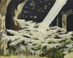 Lisa Ziwei Wang The Enlightened Bush, aka A Young Tree's Longing for Wisdom, 2014 Contemporary Landscape, Landscapes, Lisa, Wisdom, Artist, Painting, Paisajes, Scenery, Artists