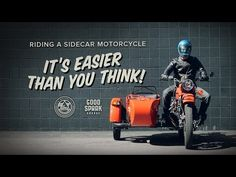 The Ural Informer – Riding a Sidecar