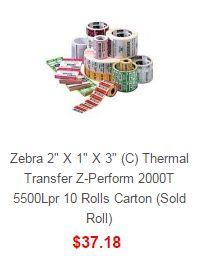 Search results for: 'Zebra zebra 2 1 3 c the l transfer z perform 10 rolls carton sold roll'