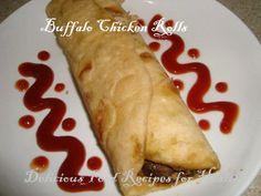Buffalo Chicken Rolls on MyRecipeMagic.com