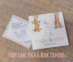 Do you and your little ones love Yoga Bunny? Head over to Centered City Yoga tomorrow at 2pm for story and yoga time! Book signing to afterwards at The Children's Hour!  For one adult and child: $15 online sign-up $20 at the door centeredcityyoga.com #centeredcityyoga #thechildrenshourslc #yogabunny || The Children's Hour Bookstore & Boutique || Clothing  Gifts  Shoes || 898 South 900 East || Salt Lake City Utah || 801.359.4150 || childrenshourbookstore.com