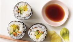 The BEST vegetarian Sushi recipe ever. Period.
