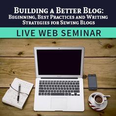 New Web Seminars for Bloggers