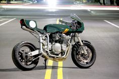 Suzuki Bandit Cafe Racer by Moto8ight #motorcycles #caferacer #motos | caferacerpasion.com