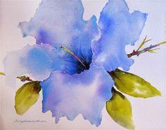 Original Watercolor Painting (On rag paper) by Ginny Blakeslee ...