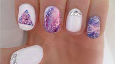 galaxy nail art - Penelusuran Google