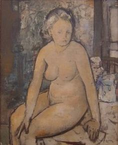 Nude with Tapestry (1945)