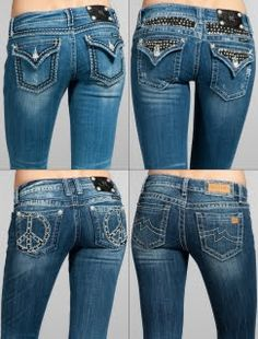 i love the miss me brand of jeans. they are just so cute & fit my shape perfectly!