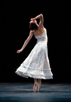 "fuckyesballet: ""Julie Kent in American Ballet Theatre's 2011 ""Jardin aux Lilas,"" photo by Rosalie O'Connor. """