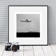 CZARNO BIAŁA FOTOGRAFIA, CHMURA - MykStudio - Fotografia czarno-biała