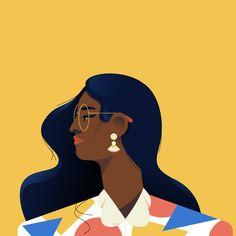 How To Draw Women Bodies Character Design Ideas Woman Illustration, Portrait Illustration, Character Illustration, Digital Illustration, Graphic Illustration, Guache, Aesthetic Art, Vector Art, Pop Art