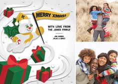 http://www.bigeasycards.com/RetailSite.asp  Garrity Greetings provides unique printed holiday cards that incorporate photos of your loved ones for that special feel during the holiday season.  Garrity Greetings is a service of Garrity Solutions.  Please visit our website www.garritysolutions.com for a complete listing of all of our services.