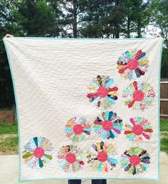 Bloom Quilt You choose Size and color by southerncharmquilts, $239.00