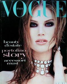 Meghan Douglas - Vogue Italia 1992